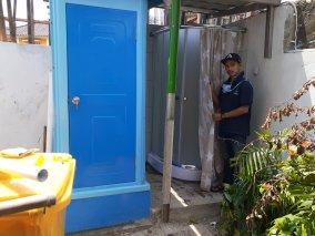 Pembuatan Toilet Outdor di Cilincing, Jakarta Timur